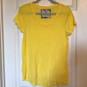 Yellow high low top